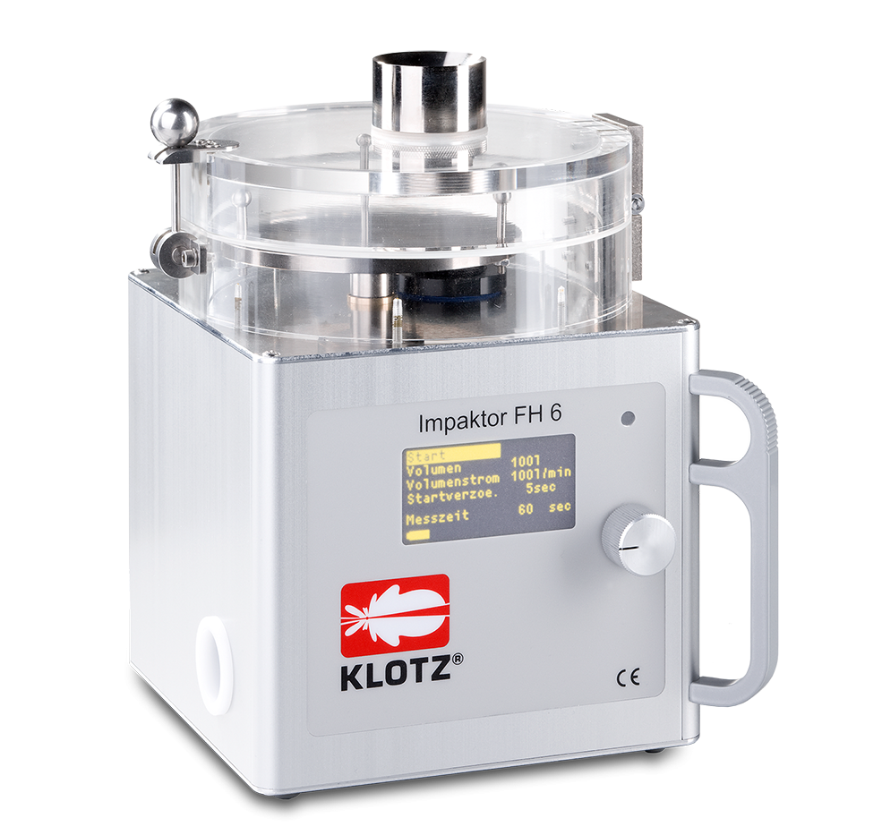 Impaktor FH6 – Particle measuring systems for air and gases