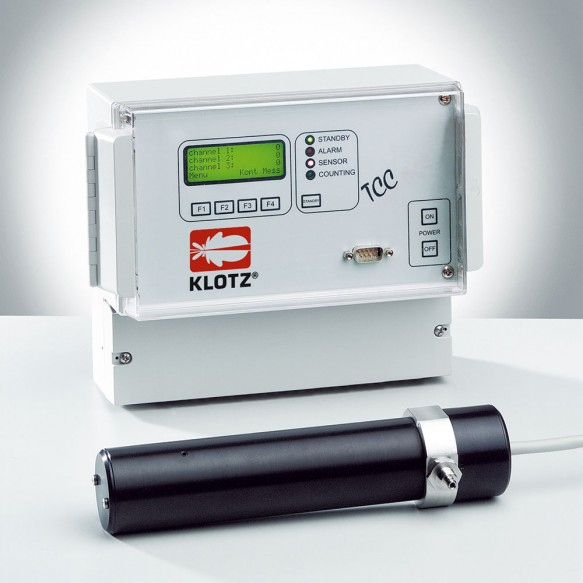 TCC Particle counter